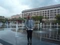Darča před fontánami v Nice