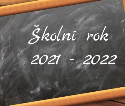 školní rok 2021-2022